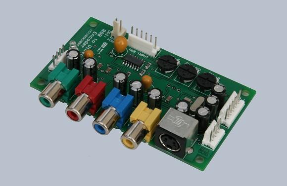 RGB to TV convertor - RGB to NTSC & PAL video encoderJRok
